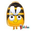 【kiddidoo】比利時童趣造型硬殼ABS後背包_蜜蜂