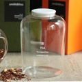 smith&hsu 玻璃茶罐,小(陶瓷蓋)