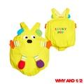 WHY AND 1/2 mini可愛寶寶吊帶短褲 多色可選60黃色