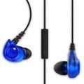 Astrotec/阿思翠 GX20入耳式監聽耳機 iPhone/android通用線控麥克風(藍色)