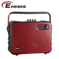 EMMAS 移動式藍芽喇叭/教學無線麥克風 (T-68)福利品紅色